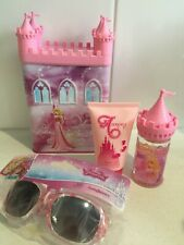 DISNEY AURORA Perfume & Shower Gel Money Box Gift Set & Princess Sunglasses