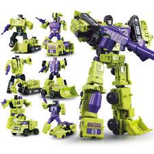 New Wj Transformers Hercules Devastator 6 In 1 Engineering Car Action Figure