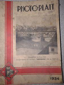 catalogue Photo Plait 1934 286 pages