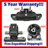 L395 For 08-13 Chry 200 Sebring/ Dod Avenger 2.4 2.7 3.5L Engine Motor Mount 3pc