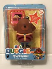 "~ HEY DUGGEE ~  PIRATE DUGGEE With Badge  3"" Figure NIP New! Sealed"