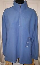 Starting Point NWT Men's Slate Blue 1/4 Zip Pullover Sweatshirt Size M