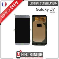 Ecran LCD Bleu / Silver Original Samsung Galaxy J7 2017 SM-J730F