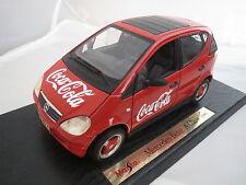 Umbau ! Mercedes Benz A 140 in rot von 1997 in 1:18 auf Basis Maisto