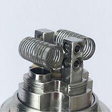 10x Notch Coil Wire Fertigwicklung RDA/RBA/RTA Edelstahl Selbstwickler A4-1