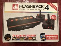 Atari Flashback 4 Special Edition Classic Game Console with 75 Built in Games