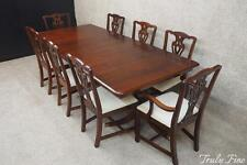 PA HOUSE 8 Chairs Chippendale Dining Room Set Duncan Phyfe 9 Pc.Table And  Chairs