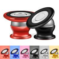Universal Magnetic Car Phone Holder 360 Metal Rotation Mobile Phone Car Holder