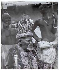 Pierre Verger - Afrique - Dahomey - Roi Zounon - Tirage argentique 1930's -