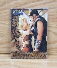 "Xena Warrior Princess - ""God of War"" Collectible Trading Card (GW7) **READ**"