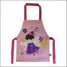Shreds Child's Apron Little Fairy Print Wipe Clean Pvc/cotton