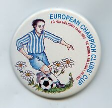 Estonia Finland Football Europian Champion Clubs Cub Helsinki 1993 Nice Grade !!