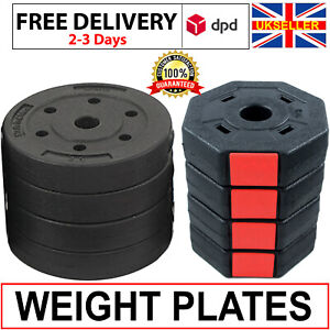 Weight Plates Set 4kg-12Kg Free Dumbbells Weight Plates Standard 1 inch for GYM