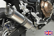 CB500F 16-17 SP Diabolus Polished Stainless Round XLS Carbon Outlet Exhaust