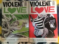 VIOLENT LOVE #1 - 2 - Image Comics - Barbiere / Santos