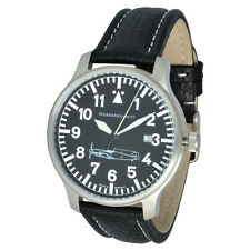 Messerschmitt Aviator watch Model ME109-42S Swiss Ronda Timepiece