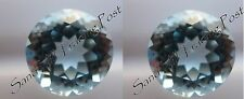 Natural 2mm Round Cut .04ct Sky Blue Topaz 2 Pieces AAA