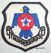 US.Air Force `F-16 THUNDERBIRDS` Cloth Badge / Patch (F16-2)