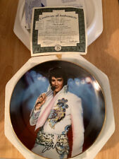 Elvis Presley Remembering Elvis Collectors Plate The Legend By Nate Giorgio 2nd