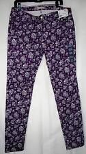 """$39.90 New w/tags Women's UNIQLO Print Skinny Fit Tapered Jeans Size W32""""x L33"""""""