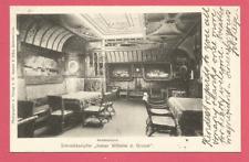 """Rauchzimmer - Schnelldampfer """"Kaiser Wilhelm d. Grosse""""   gel 1904"""