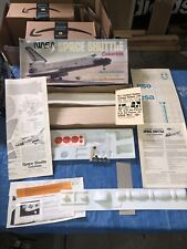 New listing Vintage Guillow's Nasa Space Shuttle Columbia Kit No. 1201 Balsa Wood Model Kit