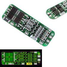 12.6V 20A 3S Célula 18650 BMS Protección Li-ion Batería litio Cargador PCB Junta