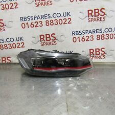 VW POLO MK9 GTI LED XENON HEADLIGHT DRIVERS OFF SIDE 2017-ON, PART No 2G2941036C