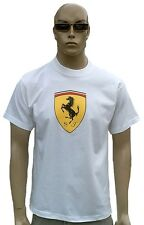 Rare Official Ferrari Logo Merchandise NICE MAN Sports VIP Star T-Shirt