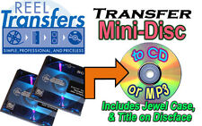 Convert Audio MINI Disc to CD/MP3