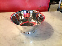 Vintage Oneida Silver Plated Paul Revere Reprduction Bowl