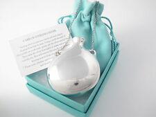 Tiffany & Co Silver HUGE Peretti Bottle Urn Jar Charm Pendant 32 Inch Necklace!