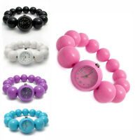 Ladies Fun Fashion Elasticated Bead Watch by Reflex, Choice Of Colours