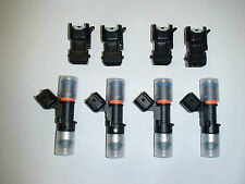 Genuine Bosch EV14 52lb 550cc fuel injectors 2000-2009 SAAB 9-5 2.3T 2.0 turbo