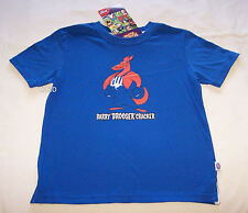 North Melbourne Kangaroos AFL Boys Mascot Printed T Shirt Size 5 New
