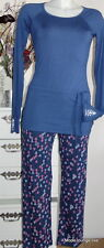 Velvet Kitten Pyjama Ankkuri Pyjama navy S 36 Schlafanzug Nachwäsche blau Anker