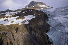 439030 The Hohturli Hut And The Mighty Aletsch Glacier A4 Photo Print