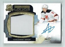 11-12 UD The Cup Limited Logos  Adam Larsson  50/50  Last Card  Auto  Patch