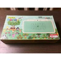 Nintendo 2DS LL game console Animal Crossing Leaf Japanese ver. Amiibo  Pack