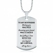 BOYFRIEND Falling Love With You Was Beyond My Control Dog Tag