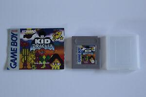 Nintendo GameBoy Spiel Kid Dracula mit Anleitung