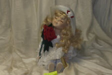 Bisque Porcelain Doll W/ Authentic Certificate