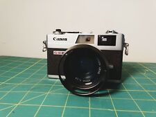 Canonet QL17 GIII Camera with filters