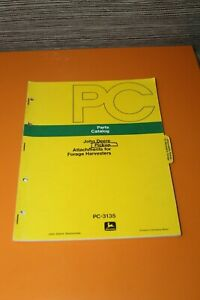 (153) JOHN DEERE Pickup Attachments for forage harvesters Parts catalog
