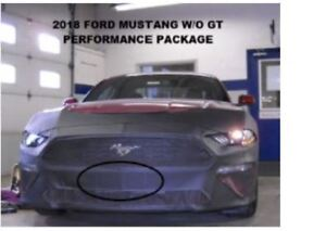 Lebra Front Mask Cover Bra Fits 2018-2020 Ford Mustang - W/O GT Performance Pack