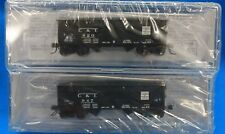 N - BLUFORD SHOPS 66122 CAMBRIA & INDIANA 2-Bay Offset side Hopper Car 2-PACK