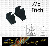 """Pole Holder Clip 22mm 7/8"""" Boat Net Fitting hook stern light gaff tube oar rod"""