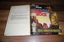 Tex Mason -- RED ROCK // mit TEXAS-RANGER KID HOLLISTER / Astoria ca 1950er
