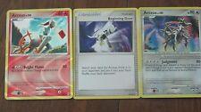 Pokemon Card Lot:  Arceus and Arceus trainer card