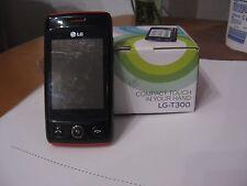 LG  Cookie LITE T300 - Schwarz auf rot (Ohne Simlock) Handy